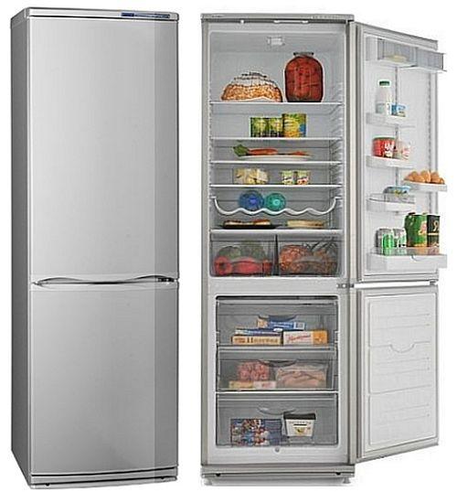 инструкция 2-х камерного холодильника атлант