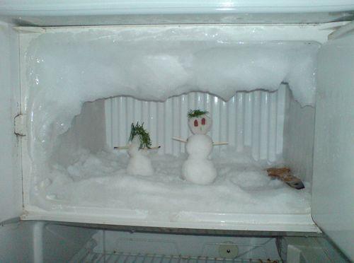 Морозилка капельного холодильника