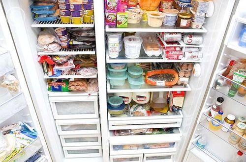 Расположение в холодильнике