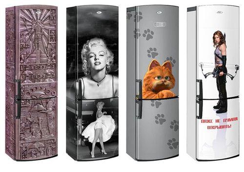 Холодильники с рисунками