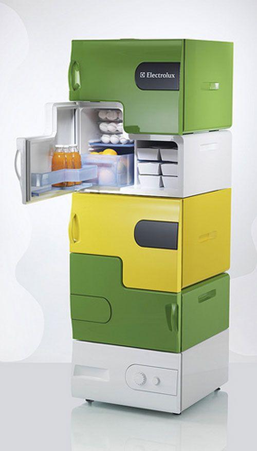 Выбираем дизайн холодильника