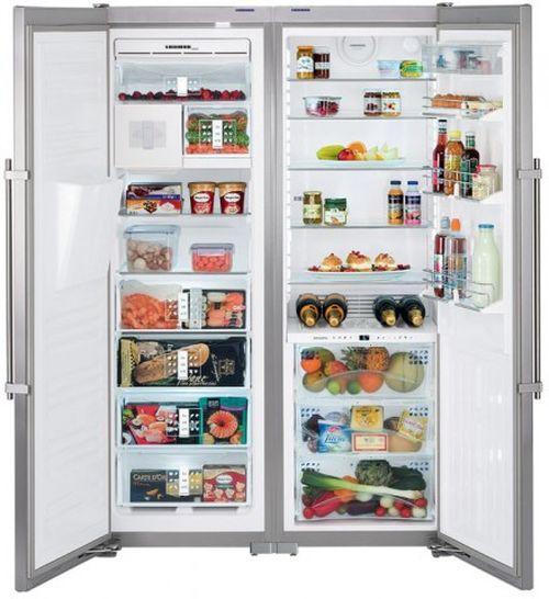 Распашной холодильник