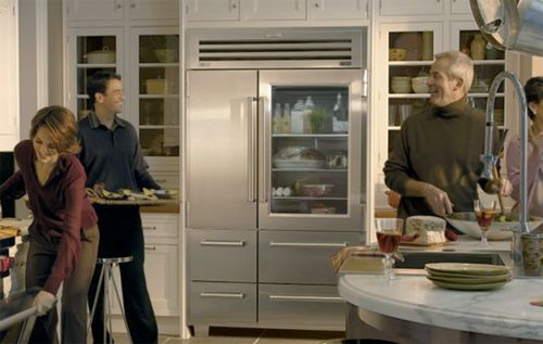 Выбираем холодильник со стеклянной дверью