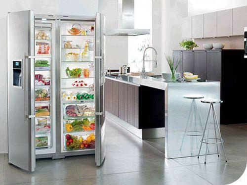 Красивый холодильник