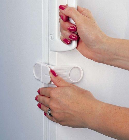 Как сделать замок для холодильника 516