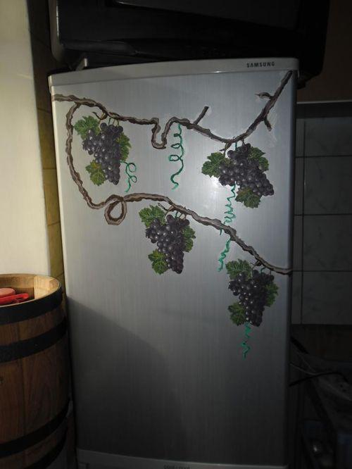Образцы Декупажа Холодильника
