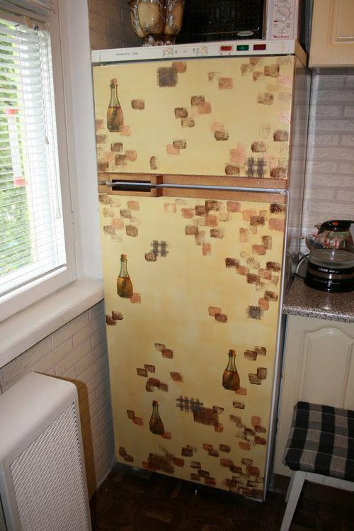 Образцы Декупажа Холодильника - фото 3