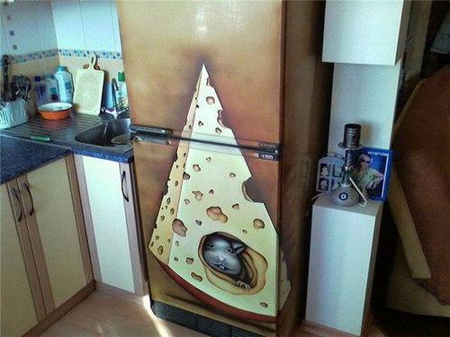 Образцы Декупажа Холодильника - фото 6