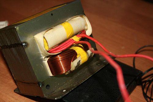 Трансформатор для микроволновки своими руками