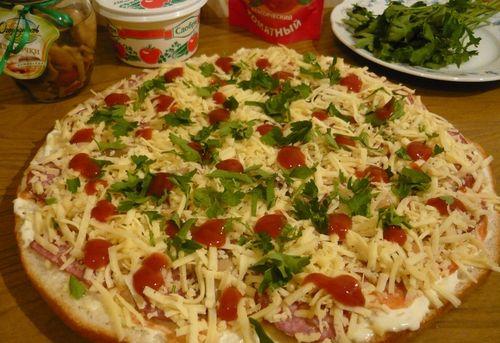 Пицца-лаваш