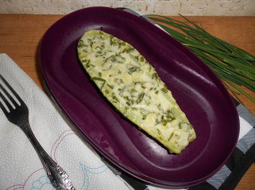 Кабачки с сыром и майонезом