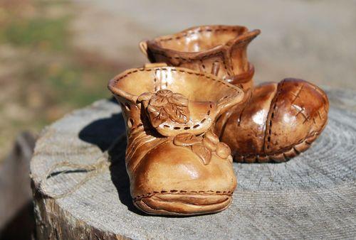 Глиняные ботиночки