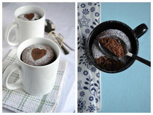 Кофейно шоколадное пирожное